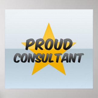 Proud Consultant Poster