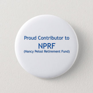 Proud contributor to NPRF 6 Cm Round Badge