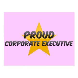 Proud Corporate Executive Post Card