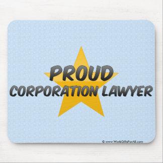 Proud Corporation Lawyer Mousepad