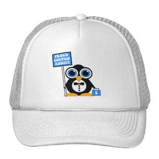 proud coupon addict cap
