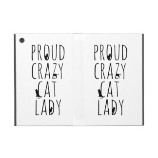 Proud Crazy Cat Lady Cover For iPad Mini