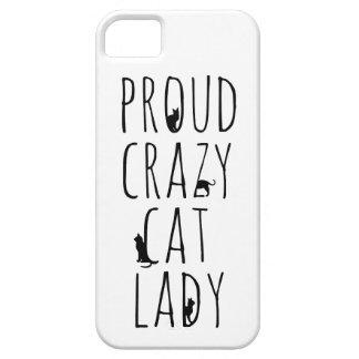Proud Crazy Cat Lady iPhone 5 Cases