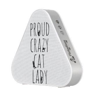 Proud Crazy Cat Lady Speaker
