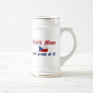Proud Czech Mom Beer Stein