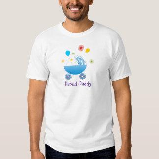 Proud Dad (Baby Boy A1) Tshirt