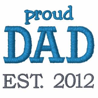 Proud Dad Established 2012 (customizable) Polos
