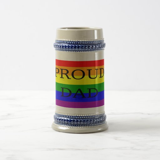 proud dad stein mugs