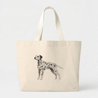 Proud Dalmatian Large Tote Bag