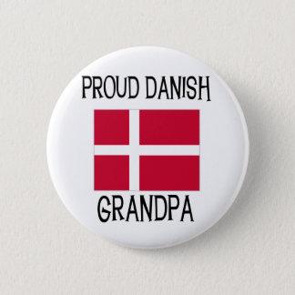 Proud Danish Grandpa 6 Cm Round Badge
