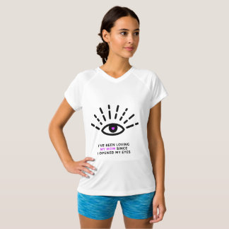 Proud Daughter Double Dry V-Neck T-Shirt