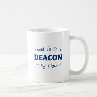 PROUD DEACON CHURCH LT COFFEE MUG