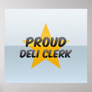 Proud Deli Clerk Poster
