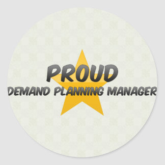 Proud Demand Planning Manager Stickers