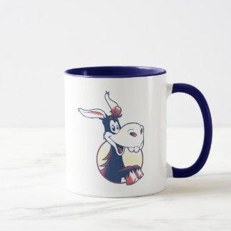 Proud Democrat Funny Donkey Patriotic Mug