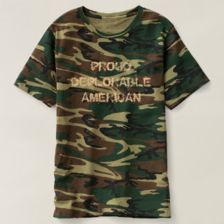 Proud Deplorable American T-Shirt