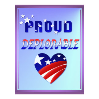 PROUD DEPLORABLE-Love America Flyer