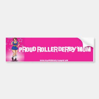 Proud Derby Mom Bumper Sticker