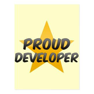 Proud Developer Post Card