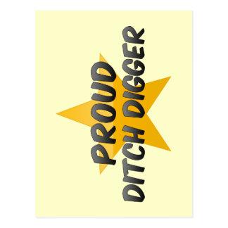Proud Ditch Digger Post Cards