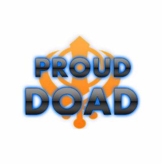 Proud Doad, Doad pride Photo Sculpture