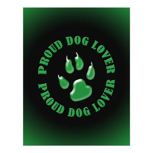 Proud Dog Lover Custom Flyer