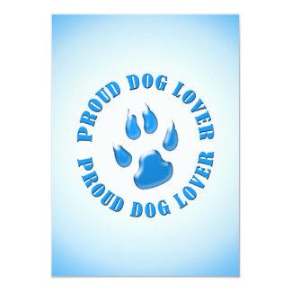 Proud Dog Lover Custom Announcements