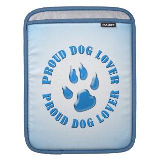 Proud Dog Lover iPad Sleeves