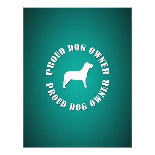 Proud Dog Owner Custom Flyer
