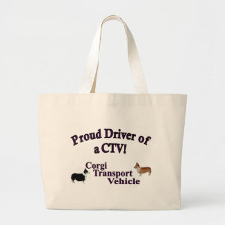 Proud Driver of a CTV Jumbo Tote Bag
