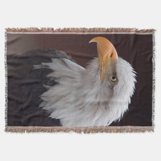 Proud Eagle Throw Blanket