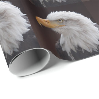 Proud Eagle Wrapping Paper