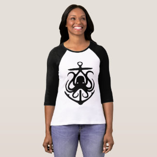 Proud EastCoaster Anchor octopus Lighthouse Route T-Shirt