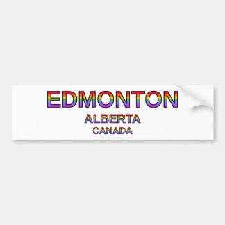 Proud Edmonton, Alberta, Canada Bumper Sticker