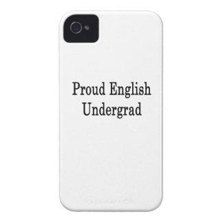 Proud English Undergrad iPhone 4 Cases