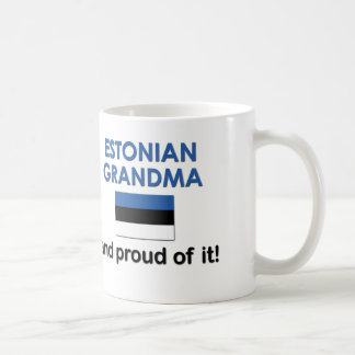 Proud Estonian Grandma Coffee Mug