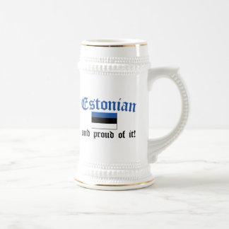 Proud Estonian Mugs