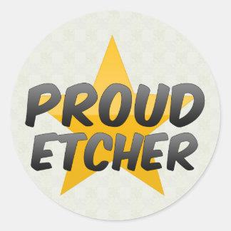 Proud Etcher Stickers