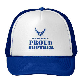 Proud Family – Small Air Force Logo & Name Mesh Hat