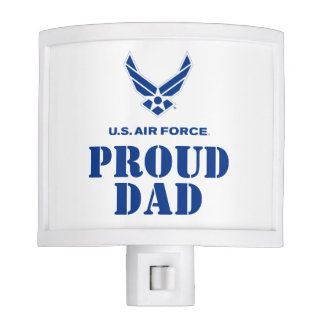 Proud Family – Small Air Force Logo & Name Night Lights