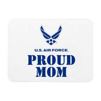 Proud Family – Small Air Force Logo & Name Rectangular Photo Magnet
