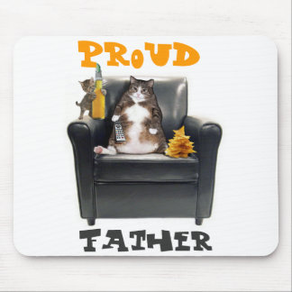 Proud Father Cats Mousepad