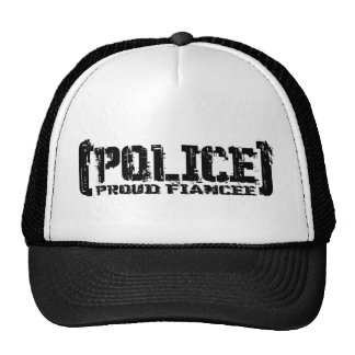 Proud Fiancee- POLICE Tattered Hats