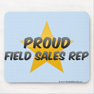 Proud Field Sales Rep Mouse Pads