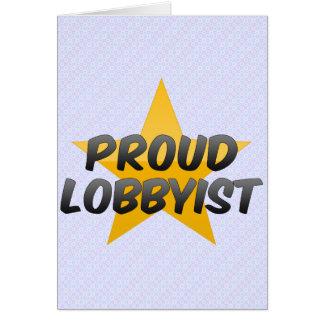 Proud File Clerk Greeting Card