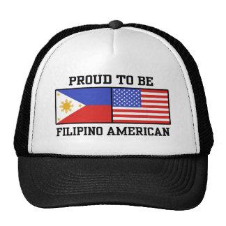 Proud Filipino American Trucker Hats