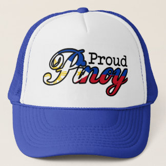 Proud Filipino Pinoy Trucker Hat