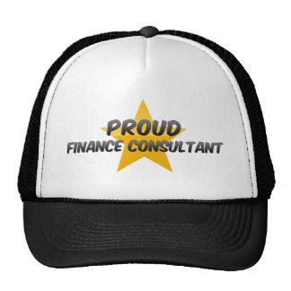 Proud Finance Consultant Mesh Hat
