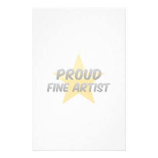 Proud Fine Artist Stationery Design