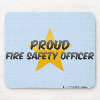Proud Fire Safety Officer Mouse Pad